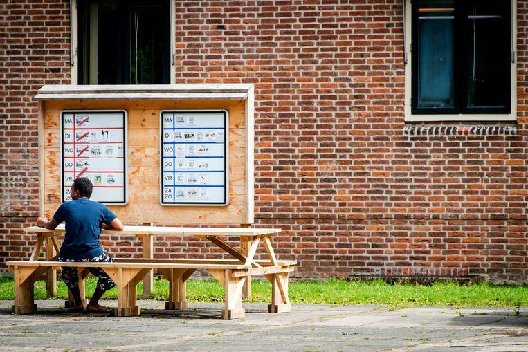 Het asielzoekerscentrum in Gilze. Beeld Hollandse Hoogte /  ANP