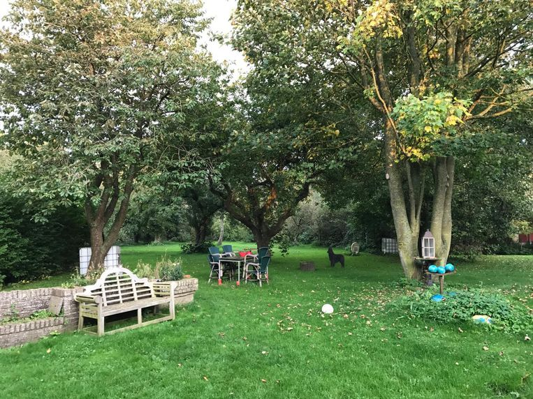 De tuin van hotel Het Klooster Beeld