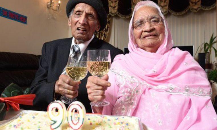 90 jaar getrouwd Oudste koppel ter wereld 90 jaar getrouwd 90 jaar getrouwd