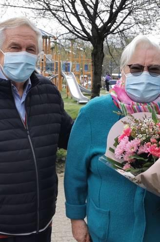 """Marie-Louise (78) en Joszef (85) vieren diamanten huwelijk met coronaprik: """"Als we er ziek van worden nemen we samen een Dafalganneke"""""""