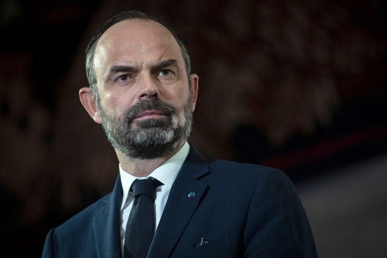 Frans premier Edouard Philippe. Beeld AP