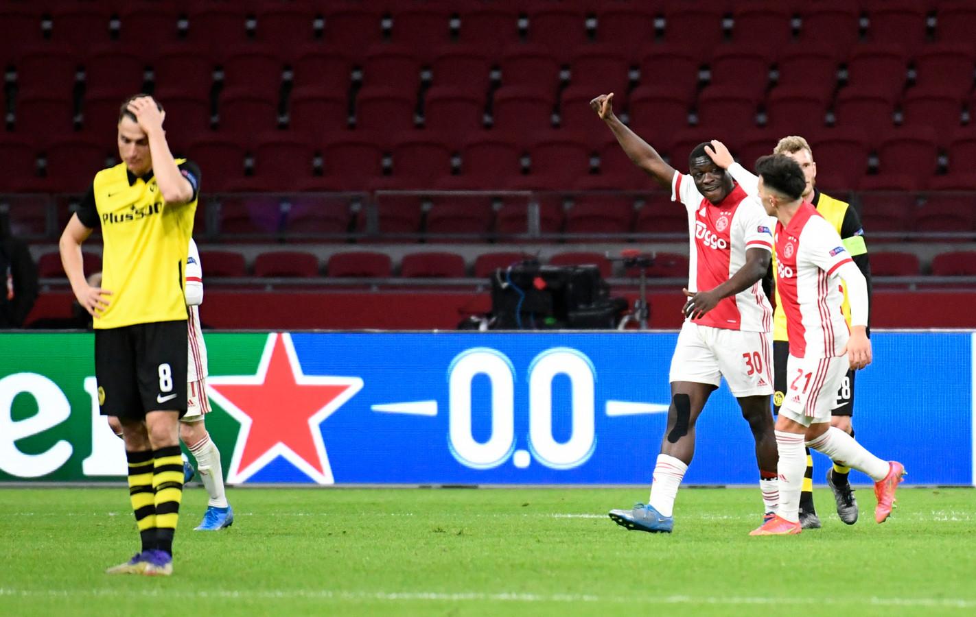 Zwitserse media: Ajax een aantal maten te groot voor Young Boys | Foto |  AD.nl