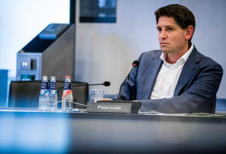 D66-Kamerlid Jan Paternotte wil gevaccineerden een vrijstelling geven van de quarantaineplicht.  Beeld ANP