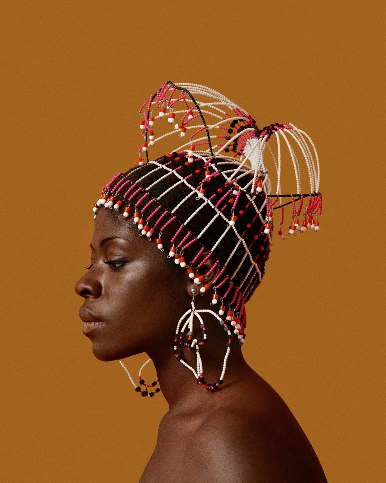 Het portret dat Kwame Brathwaite in 1968 maakte van zijn vrouw Sikolo.  Beeld Kwame Brathwaite / Mendo