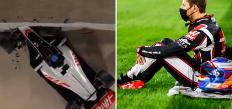 """Une impressionnante animation 3D montre comment Romain Grosjean a survécu à son crash: """"Et dire que j'étais contre le halo..."""""""
