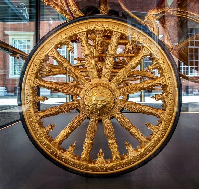 Wiel van de Gouden Koets. Beeld Raymond Rutting / de Volkskrant