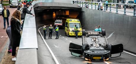 Geen flitspaal in 'brokkentunnel' Willemstunnel; technisch niet mogelijk