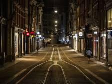 Het is net zo druk op straat met avondklok, tellen onderzoekers