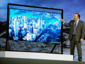 """Samsung showt 110""""-tv met dubbele full hd-resolutie"""