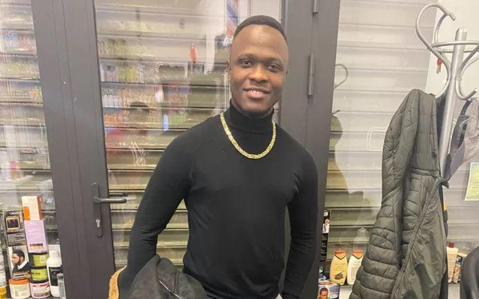 Mamadou Diallo, 25 ans, est décédé dans l'incendie qui a ravagé un immeuble de la rue Heyvaert à Anderlecht.