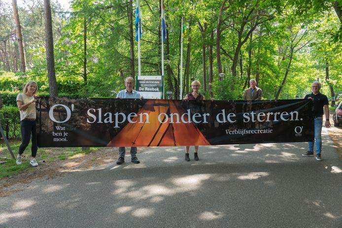 Met de nieuwe slogan O' wat ben je mooi worden toeristen ook ten tijde van corona in Oisterwijk verwelkomd