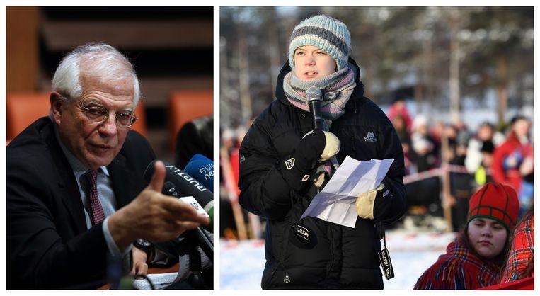 """De """"voltallige"""" Europese Commissie steunt de ambitie van jonge mensen om de strijd met klimaatverandering aan te gaan. Dat onderstreept de woordvoerder van voorzitter Ursula von der Leyen vandaag, nadat vicevoorzitter Josep Borrell luidop twijfelde aan het engagement van de klimaatbetogers."""