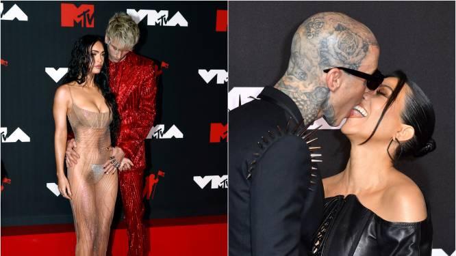 Megan Fox en Kourtney Kardashian stoeiden met hun 'bad boys' op de toiletten van de VMA's