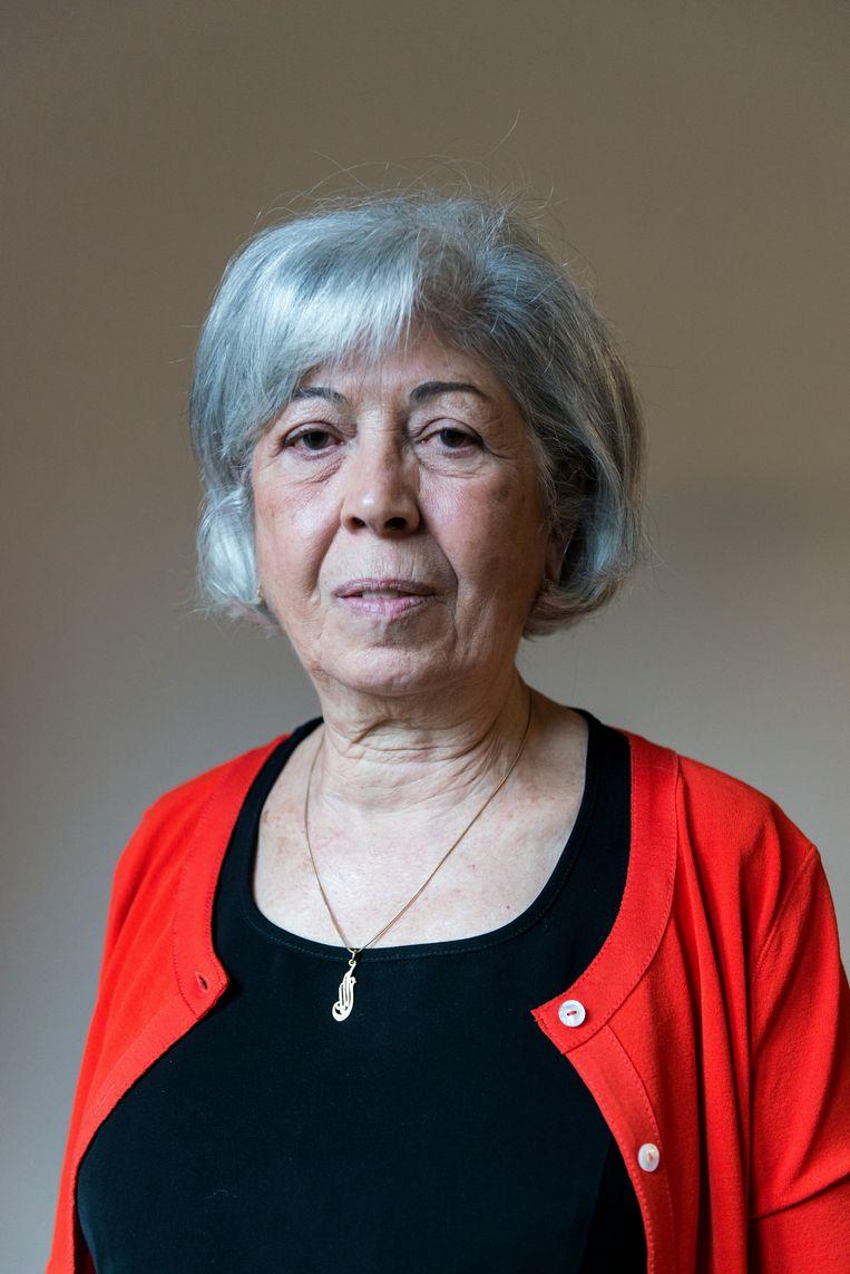 Rabha Heinen-Nasr: 'Kaag heeft door haar ervaring de meeste kans om resultaten te boeken, denk ik.' Beeld Eva Faché