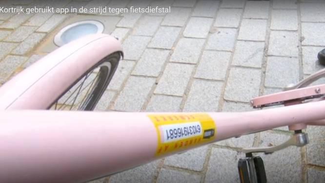 """Kortrijkse stadsmedewerkers en politie gaan met app op zoek naar gestolen fietsen: """"We willen fietsdieven vatten nog voor ze de straat uit zijn"""""""