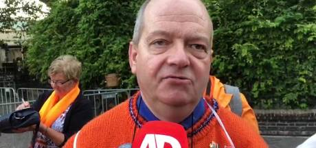 Eerste Oranje-fan op Prinsjesdag: 'Koning spreekt me altijd aan met je'