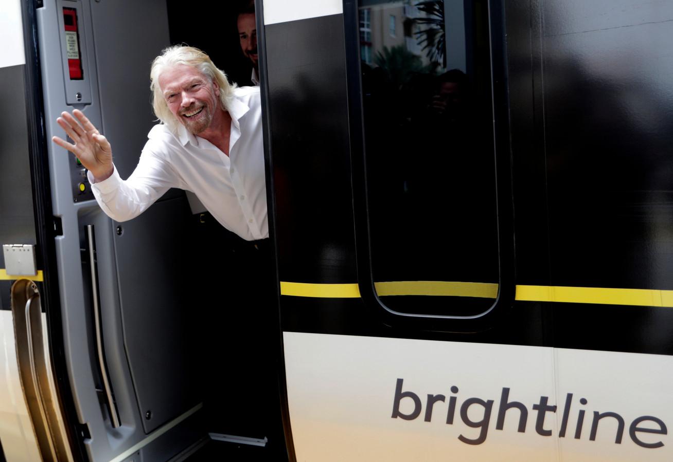 L'homme d'affaires britannique Richard Branson.