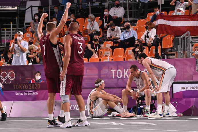 Ontgoocheling bij de Lions na de zware nederlaag tegen Letland.