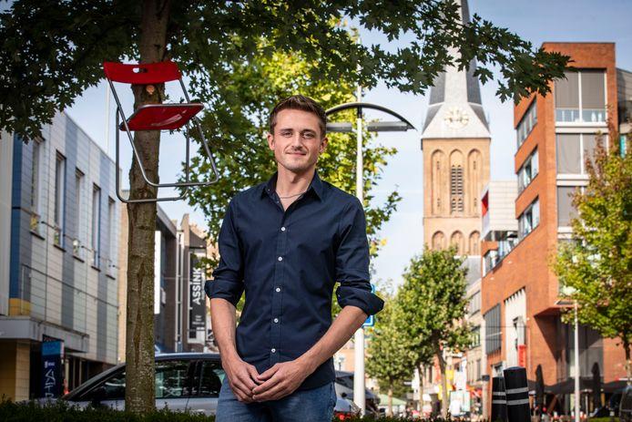 """VVD'er Mitchell Boers: """"Ik kom niet uit een liberaal nest, mijn vader was postbode."""""""