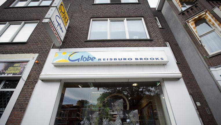 Een Globe-reisbureau in Den Haag. Beeld anp