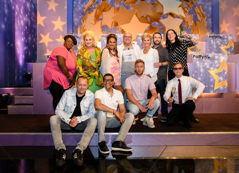 Ranking the stars met Paul de Leeuw als presentator Beeld Amy van Leiden