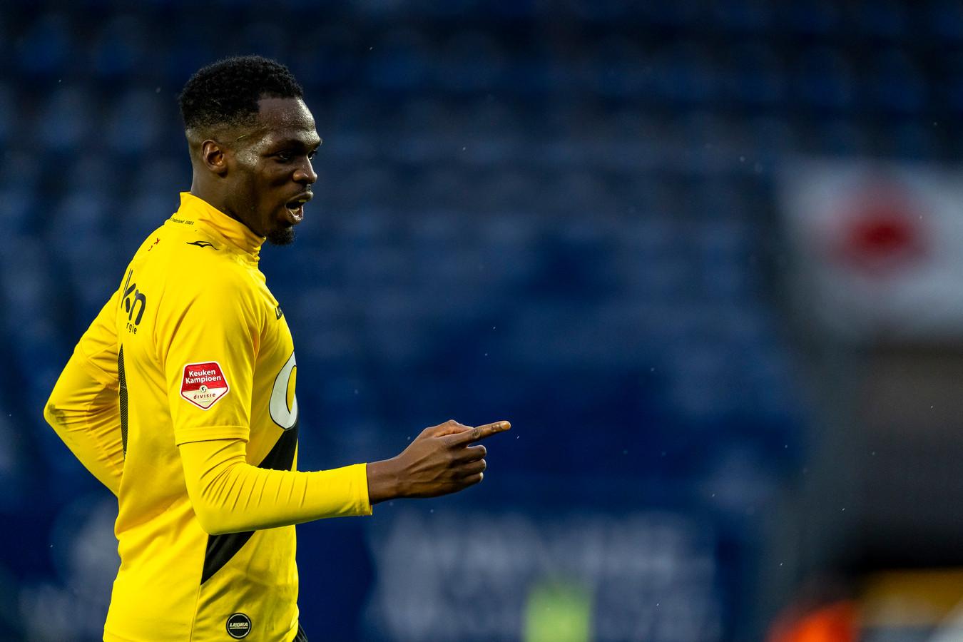 Moïse Adiléhou zette NAC op het juiste spoor met de 2-1.