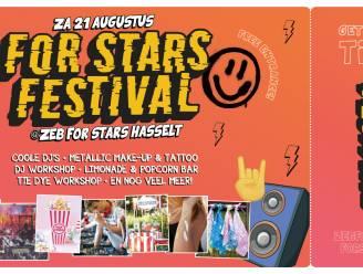 Ook Hasseltse kids krijgen 'hun Pukkelpop' met For Stars Festival