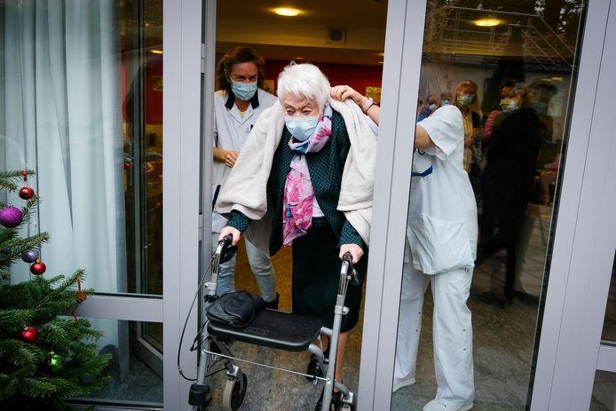 Eerste vaccin in Brussel (Nôtre-Dame de Stockel)