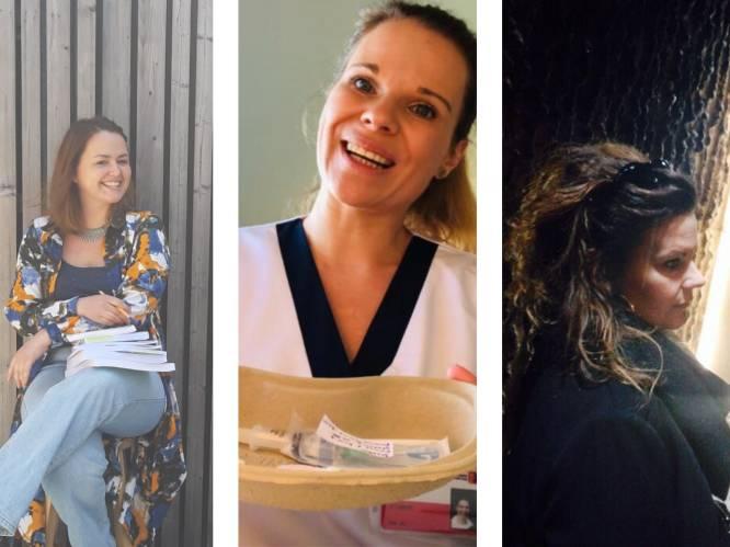 """Anja, Wendy en Yvette gingen door corona opnieuw studeren: """"Het is niet omdat je één foute keuze maakt dat het om zeep is"""""""