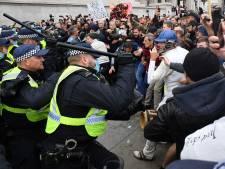 Des incidents lors d'une manifestation anti-confinement à Londres