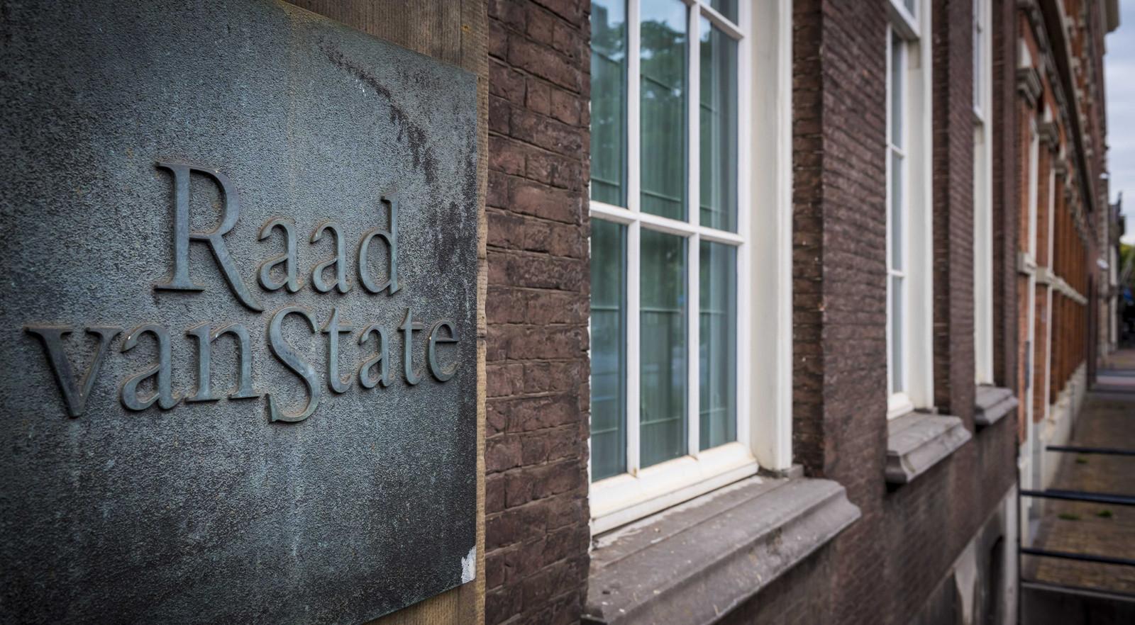 De Raad van State in Den Haag.