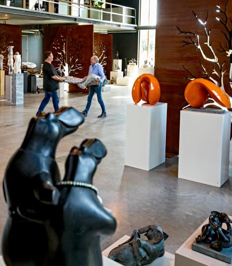 Grote diversiteit aan beelden op expositie Oogenlust in Eersel