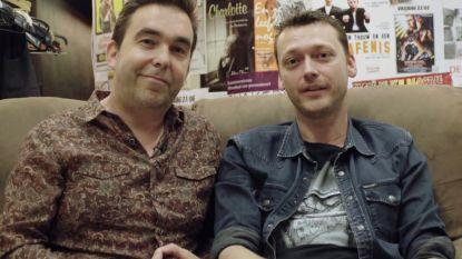 Acteurs Gunter Reniers en Yves Caspar gaan in 'Huizenjagers' op zoek naar een nieuw theater