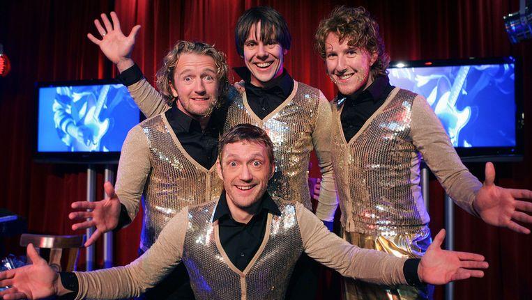 Op 23 maart sluiten de Ashton Brothers hun theatertour af in Carré. Beeld anp