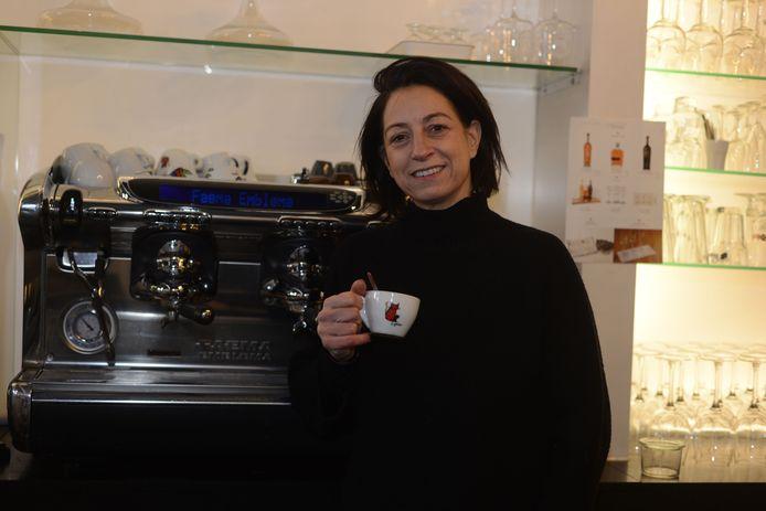 Uitbaatster Mariolina Salerno (47) van Il Peperoncino