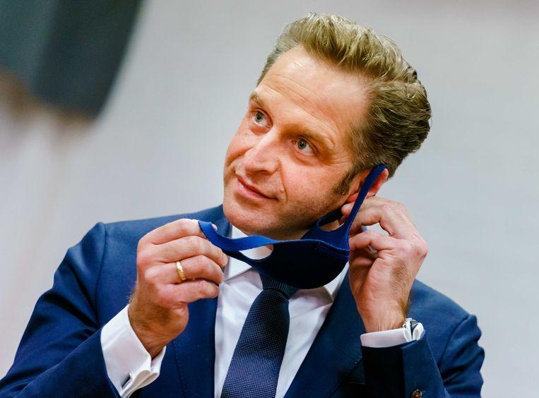 Demissionair minister Hugo de Jonge (Volksgezondheid). Beeld ANP