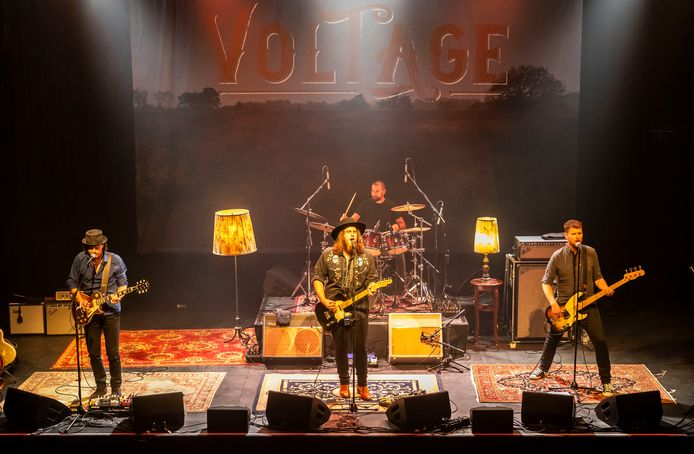 De band Voltage staat op zondag 25 april in een 'uitverkochte' Pul in Uden.