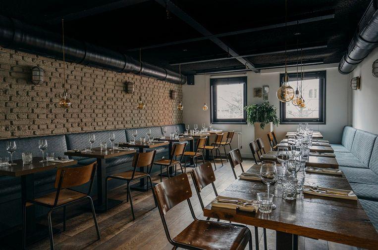 Restaurant Guts in de Utrechtsestraat. Beeld Restaurant Guts