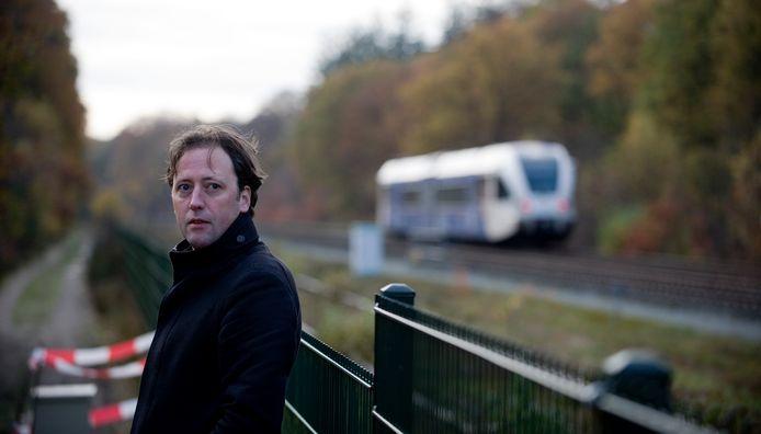 Joris van Casteren, een jaar na de botsing op het spoor.