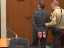 Ce que Derek Chauvin a écrit sur sa main juste avant le prononcé du verdict