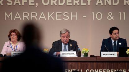 VN-migratiepact goedgekeurd in Marrakesh, ook door premier Michel