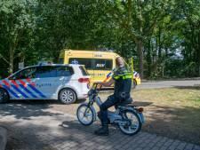 Visser redt bromfietser in Tilburg na wespensteek
