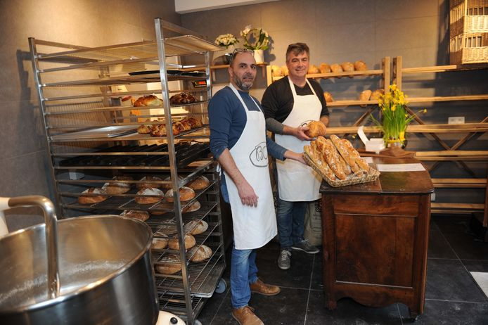 Didier en Baudouin hebben met Boo hun eigen artisanale bakkerij opgestart.