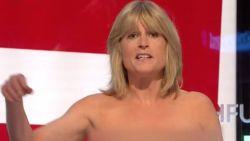 Zus van Boris Johnson gaat 'topless' tijdens eigen programma op Sky News