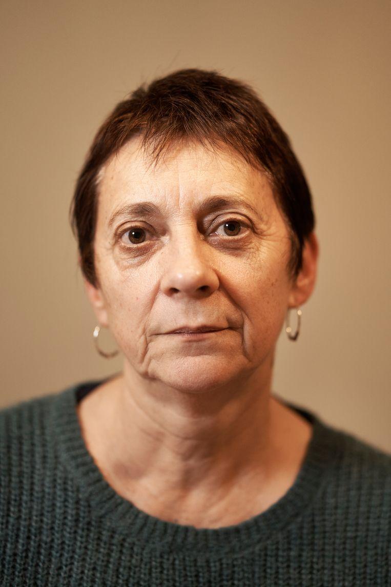 Sophie Pirson: 'Het is niet omdat ik de moeder van een slachtoffer ben, dat ik mijn humanistische waarden aan de kant schuif.' Beeld Joris Casaer
