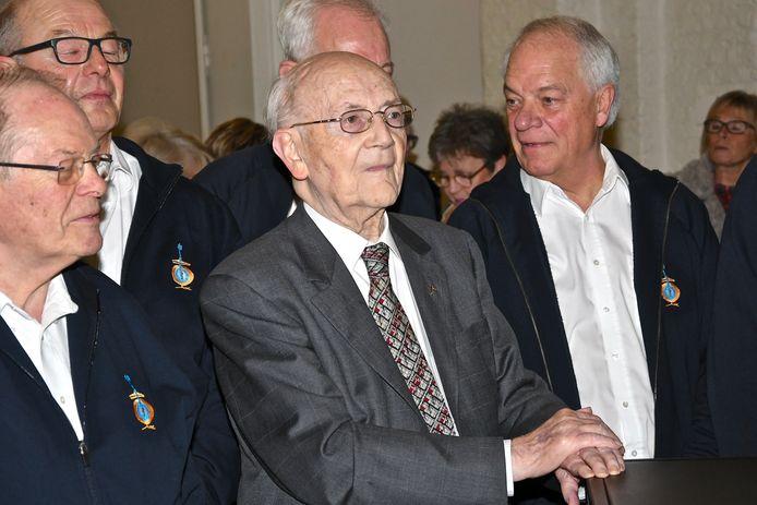 60-jarig bestaan Banjo-Orkest - oprichter Alfons Bouckaert (95)