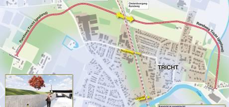 Aanleg van de randweg van Tricht is begonnen: in augustus kunnen de eerste auto's erop