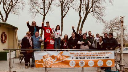 Donderdag start 'Roei for Life' in Oostende: 300 roeiers zetten koers naar Aalst