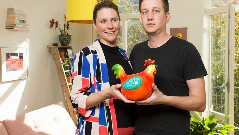 Erik Loots: 'Die kip is echt een visueel obstakel' Beeld Ivo van der Bent