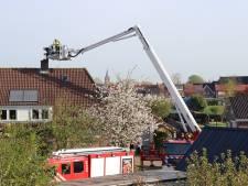 Schoorsteenbrand in woning aan de Maasdijk te Wijk en Aalburg